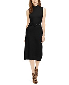 INC Belted Midi Sweater Dress, Created For Macy's