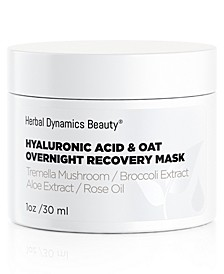 Hyaluronic Acid + Oat Overnight Recovery Mask