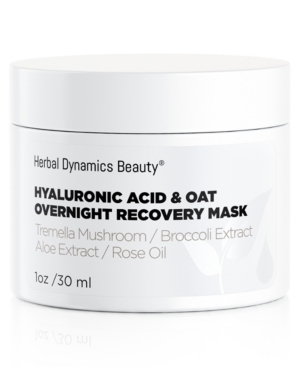 Herbal Dynamics Beauty Hyaluronic Acid + Oat Overnight Recovery Mask