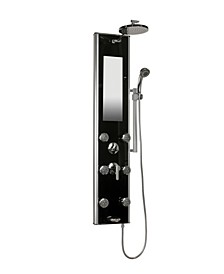 Pulse ShowerSpas Leilani Glass ShowerSpa