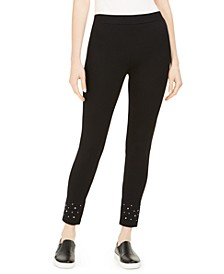 Studded-Hem Leggings, Created for Macy's