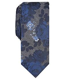 Bar III Men's Kenley Floral Tie, Created For Macy's