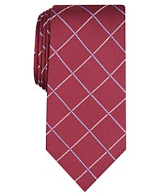 Men's Canton Grid Tie, Created For Macy's