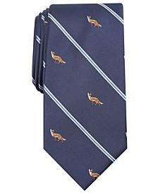 Men's Fox Print Tie, Created For Macy's