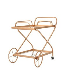 Bentley Traditional Bar Cart, Quick Ship