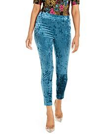 Velvet Stretch Leggings, Created For Macy's