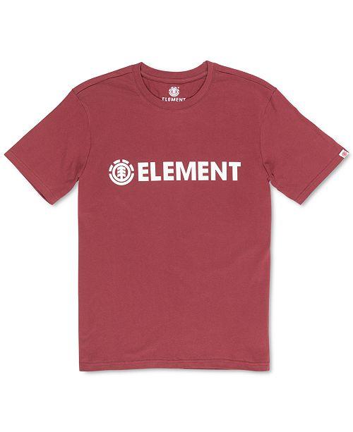 Element Men's Blazin Logo Graphic T-Shirt