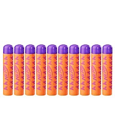 Fortnite Official 10 Dart Mega Refill Pack for Nerf Fortnite Mega Dart Blasters -- Compatible with Nerf Mega Toy Blasters -- For Youth, Teens, Adults
