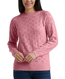 Emily Pointelle Pullover Sweater