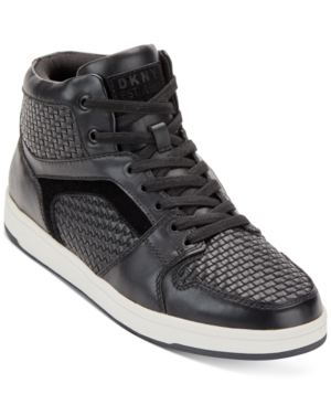 Dkny Sneakers MEN'S MALONE HIGH TOP SNEAKERS MEN'S SHOES