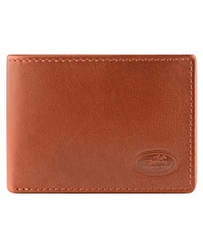 Manchester Collection Men's RFID Secure Slim Wallet