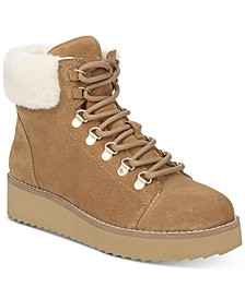 Franc Wedge Shearling Booties