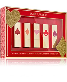 Limited Edition 5-Pc. Five Of A Kind Pure Color Envy Sculpting Lipstick Gift Set