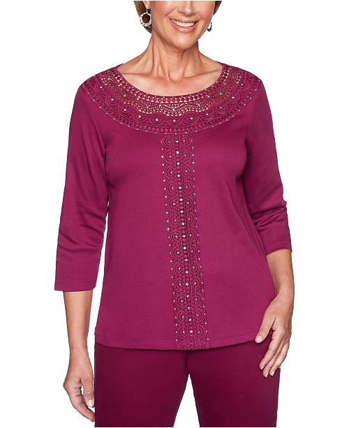 Alfred Dunner Autumn Harvest Top