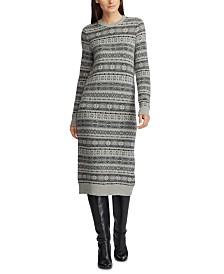 Lauren Ralph Lauren Knit Jacquard Dress