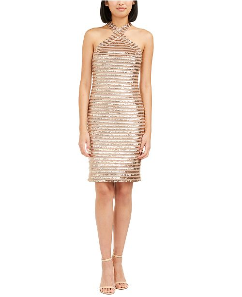 Trina Turk Melody Sequined Bodycon Dress