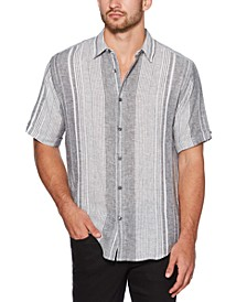 Men's Big & Tall Regular-Fit Yarn-Dyed Stripe Shirt