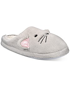 Cat Face Slippers, Created For Macy's