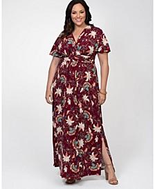 Women's Plus Size Vienna Maxi Dress