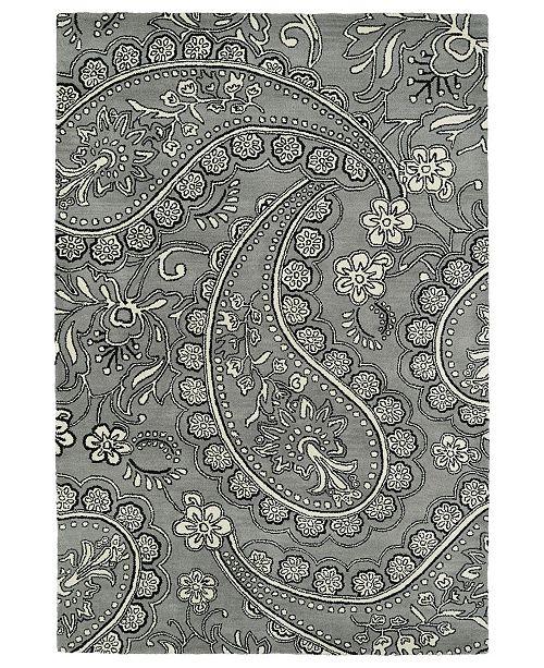 Kaleen Melange MLG01-75 Gray 8' x 10' Area Rug