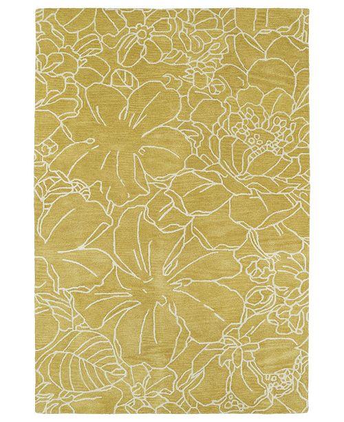 Kaleen Melange MLG05-28 Yellow 8' x 10' Area Rug