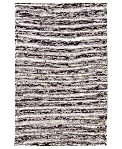 "Kaleen Cord CRD01-95 Purple 5' x 7'6"" Area Rug"