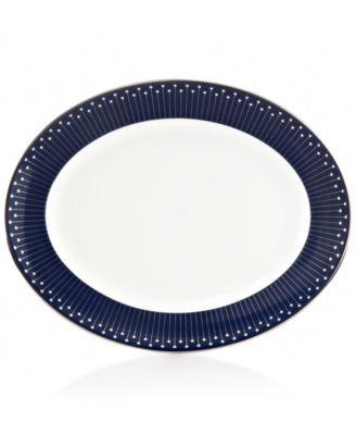 Mercer Drive Platinum Oval Platter