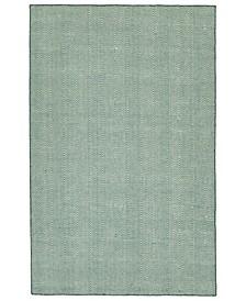 Ziggy ZIG01-91 Teal 8' x 10' Area Rug