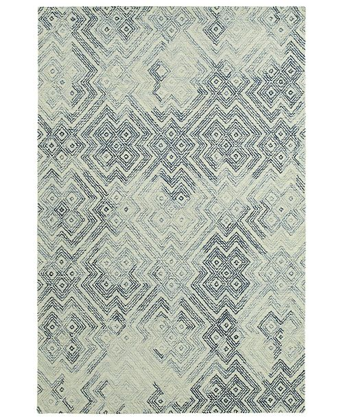 Kaleen Ceneri CEN02-100 Ice 2' x 3' Area Rug