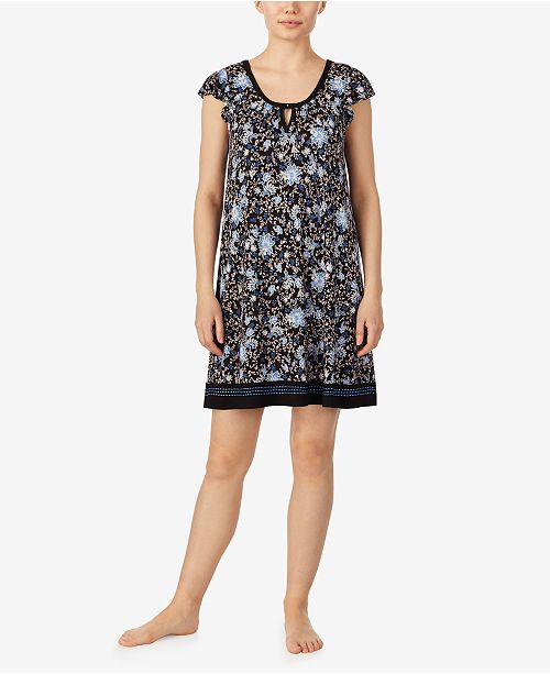 Ellen Tracy Women's Boho Floral Chemise Nightgown, Online Only