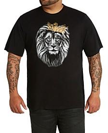 MVP Collections Men's Big & Tall MVP Logo Lion King Tee