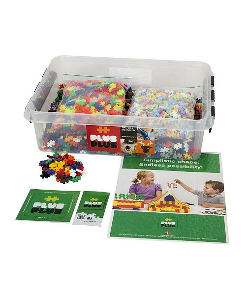 Plus-Plus Open Play - 3600 Pc Mixed Colors in Tub