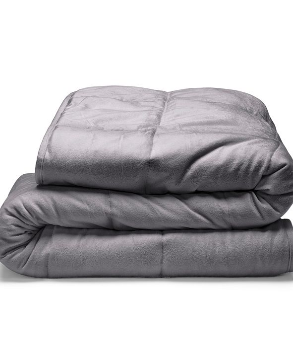 Tranquility Plush 18lb Weighted Blanket