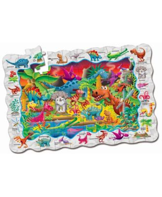 The Learning Journey Puzzle Doubles- Find It Dinosaurs - Dinosaur Toy