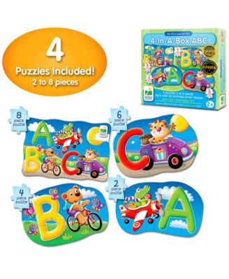 The Learning Journey My First Puzzle Sets 4 in a Box Puzzles- Abc