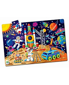 Jumbo Floor Puzzles- Out In Space