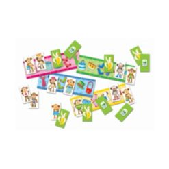 The Learning Journey Play It Game- Who's Your Monkey