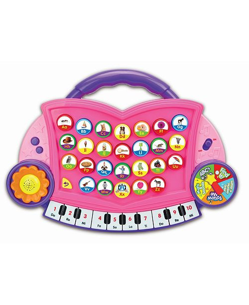 The Learning Journey ABC Melody Maker, Pink Color Design
