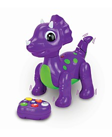 The Learning Journey Remote Control Colors and Shapes Dancing Dino