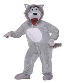 BuySeason Men's Story Book Wolf Plush Costume