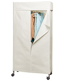 Home Solution Supreme Garment Rack Cover Natural Color