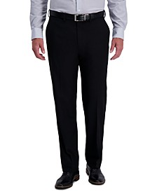 J.M. Men's Classic-Fit Stretch Heather Diamond Dress Pants