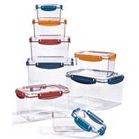 Tools of the Trade Tritan Food Storage w/ Lids (Set of 16-Pcs.)