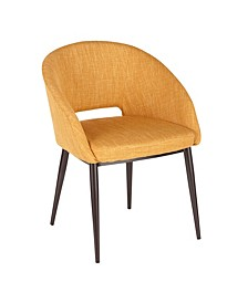 Renee Espresso Metal Chair