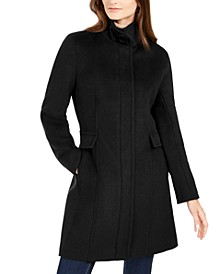 Stand-Collar Walker Coat, Created for Macys