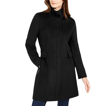 Calvin Klein Stand-Collar Walker Women's Coat