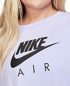 Nike Air Plus Size Short-Sleeve Top