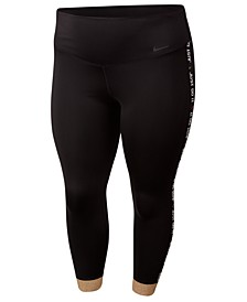 Plus Size One 7/8-Length Training Tights