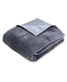 Calming Comfort Reversible Cooling 12lb Weighted Blanket