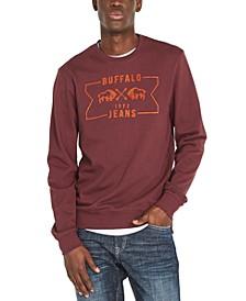 Men's Facory Regular-Fit Fleece Logo Sweatshirt